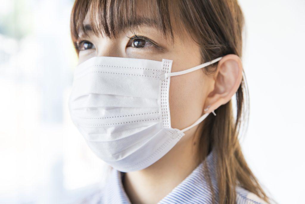 感染予防のマスク着用とコロナウイルス